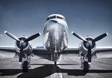 Vliegtuig fotobehang