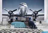 Douglas DC3 behang