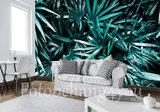 Palmbladeren fotobehang