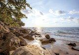Strand fotobehang kust thailand