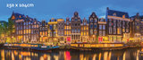 Amsterdamse gracht behang poster