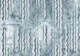 Beton behang Kabel motief Blauw