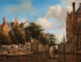 Amsterdams Stadsgezicht Haarlemmersluis