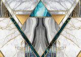 Art Deco Marmer fotobehang I