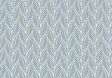 Bladeren patroon fotobehang blauw