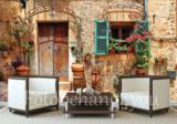Fotobehang Toscane straat