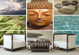 Buddha fotobehang Spa