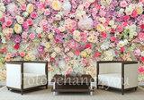 bloemen behang bloemenmuur