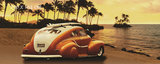 Car at the Beach poster