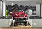 Auto op Cuba behang