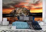 Jaguar behang