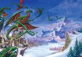Alchemy Dragons fotobehang