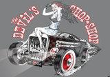 Devils Chop Shop Alchemy fotobehang