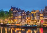 Amsterdamse gracht fotobehang