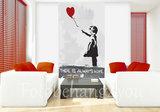 Banksy poster Balloon Girl