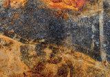Abstract fotobehang copper