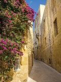 Grieks straatje fotobehang