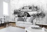 Chevrolet oldtimer fotobehang
