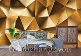 Hexagon behang