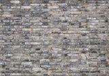 Baksteen fotobehang grijs