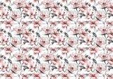Bloemen fotobehang roze