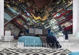 stedelijk behang