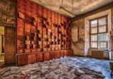 Industrieel fotobehang Oude winkel