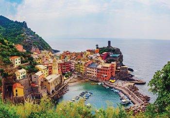 Vernazza Italie fotobehang