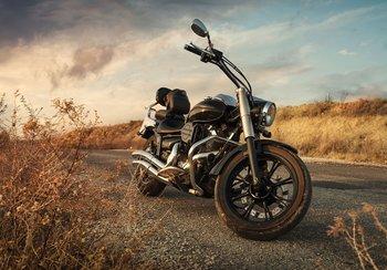 Motorfiets fotobehang