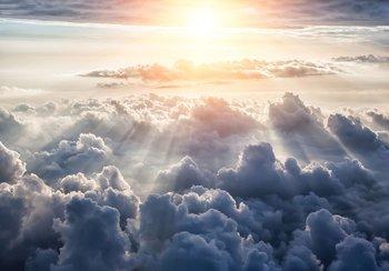 Boven de Wolken fotobehang