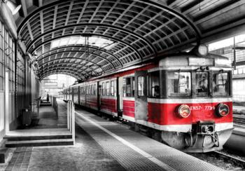 Metrostation fotobehang