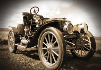 Old Timer fotobehang T Ford