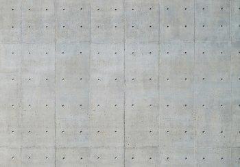 Beton fotobehang betonplaten