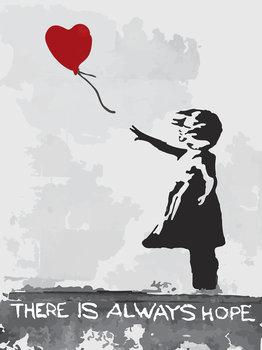 Balloon Girl fotobehang Banksy