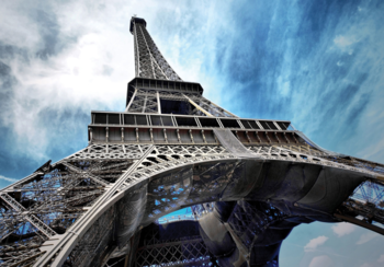Eiffeltoren fotobehang Parijs