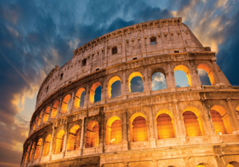 Colosseum fotobehang Rome
