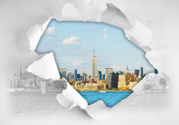 New York 3D fotobehang