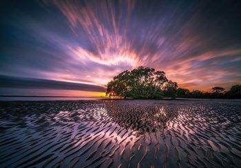 Purple Sky fotobehang