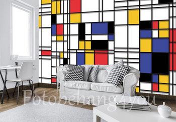 Piet Mondriaan Style fotobehang