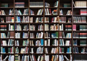 Boekenkast fotobehang Bibliotheek