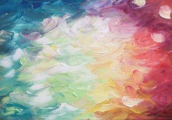 Abstract fotobehang Bloem