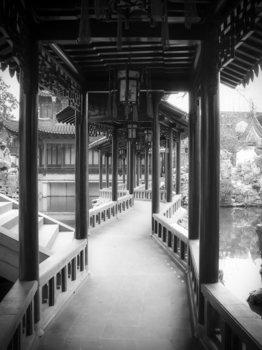 Japanse Tempel fotobehang