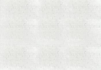 Baksteen fotobehang Wit