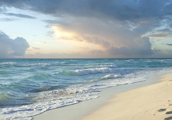 Strand fotobehang Seaside