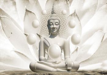Buddha fotobehang