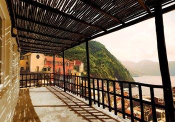 Terras fotobehang Italie