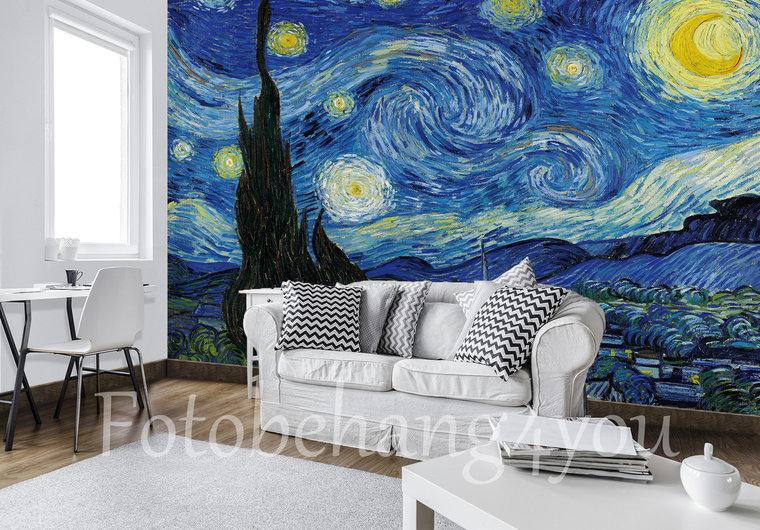 Sterrennacht Van Gogh Fotobehang Fotobehang4you