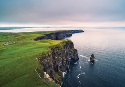 Ierse kust fotobehang