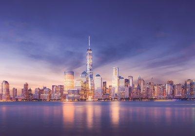 New York fotobehang Manhattan