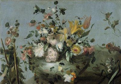 Bloemen behang Rijksstudio